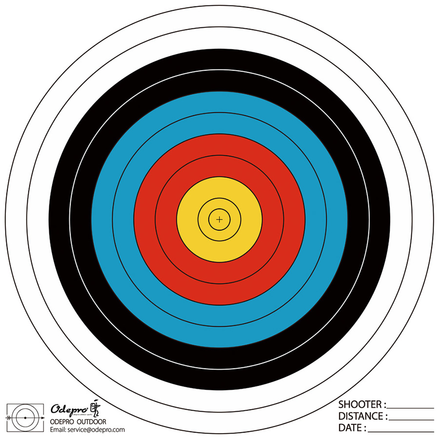 Archery Target-No words