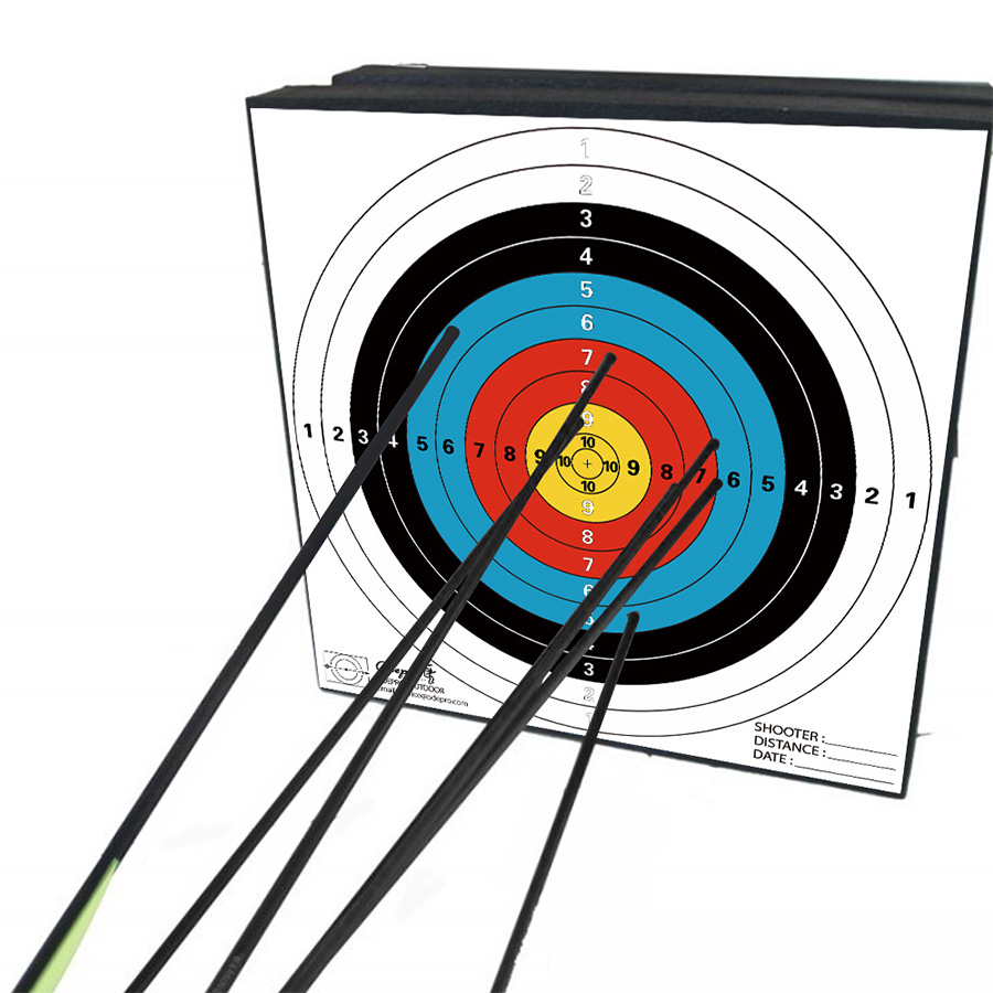 Archery Target-words