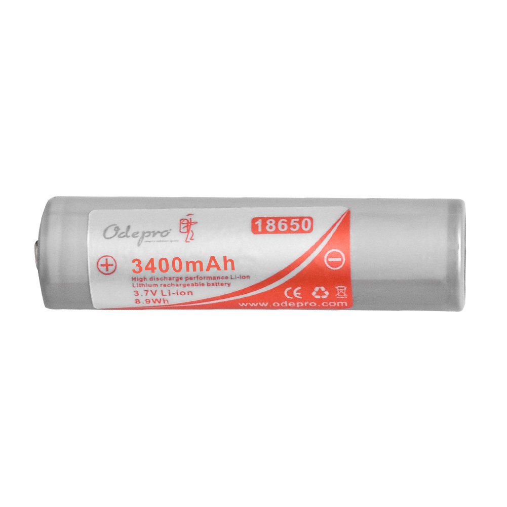 Odepro 18650 Battery 3400mAh